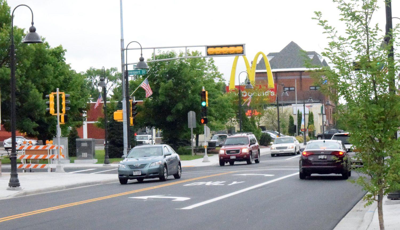 Downtown Rhinelander roads lead to homes by Minocqua Radon Mitigation & Testing 11070 Bellwood Dr Ste 42, Minocqua, WI