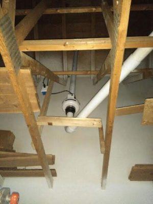 Minocqua Radon Mitigation & Testing Oneida County, 11070 Bellwood Dr Ste 42, Minocqua, WI 54548 Attic radon installation